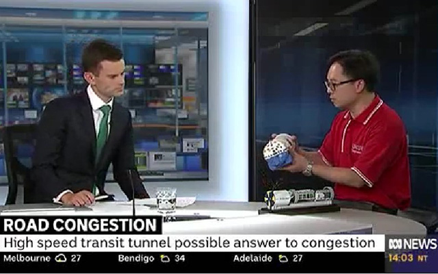 Dr Johnson Shen's interview with the ABC